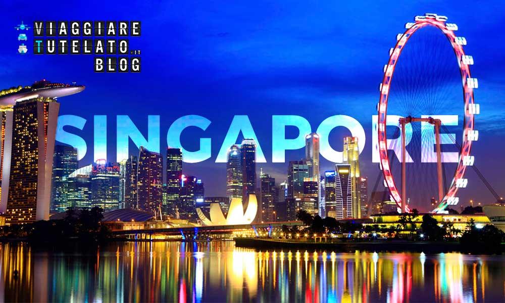 Passaggio a Singapore, la città del leone