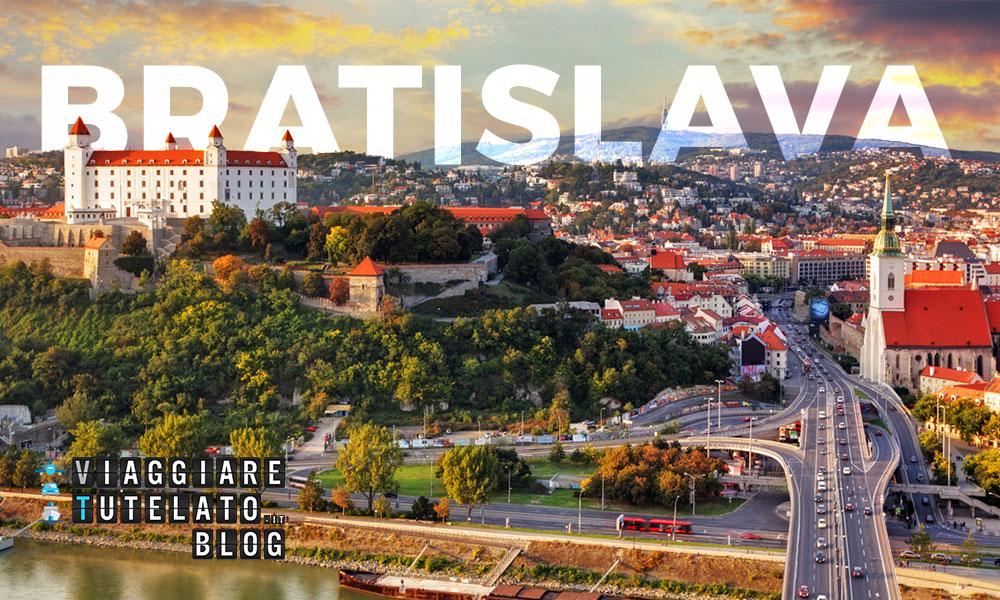 Bratislava, meta insolita, poco ricercata, molto rilassante.