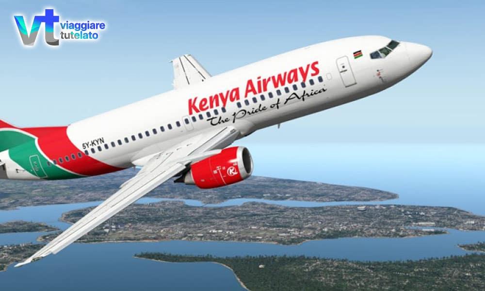 La Kenya Airways pronta ad inaugurare la nuova tratta Roma-Nairobi