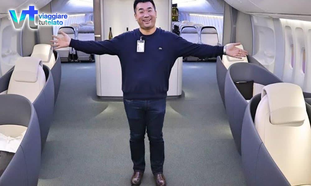 Sam Chui diventa leggenda: presi più di duemila voli