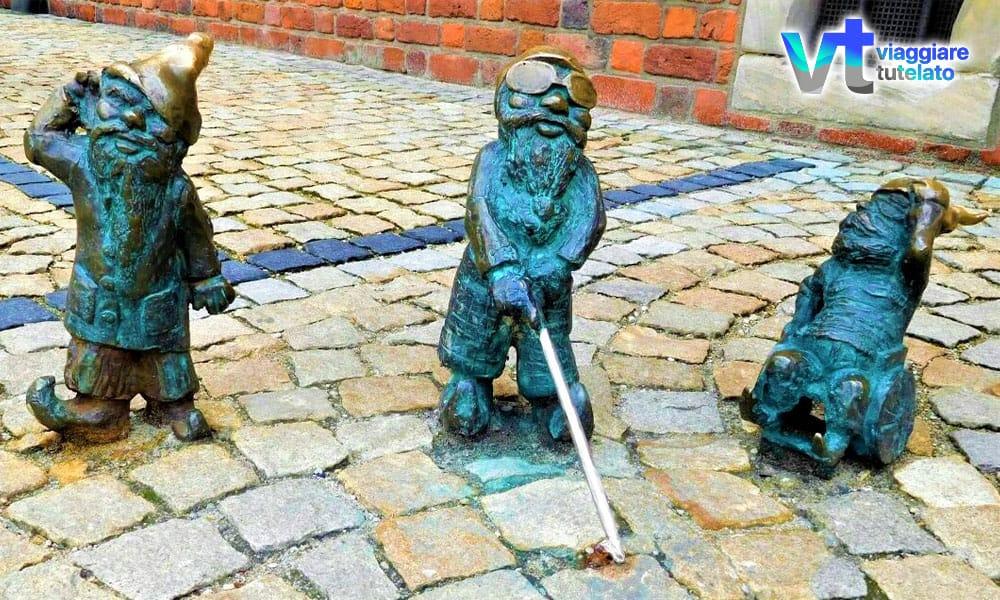 Breslavia, la città degli Gnomi da giardino