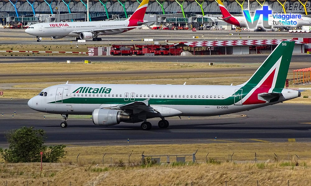Sciopero Alitalia 13 Dicembre: più di 300 voli cancellati